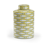 Wildwood Home Fish Tail Canister - Large 301719 Ceramic