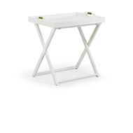 Wildwood Home Five Oclock Tray Table 490447 Wood/Rattan