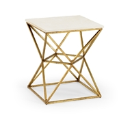 Wildwood Home Geodesic Table 490344 Iron/Stone