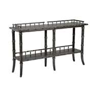 Wildwood Home Luzon Console - Charcoal 490290 Wood