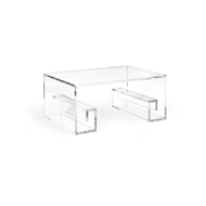 Wildwood Home Mykonos Cocktail Table 490311 Acrylic