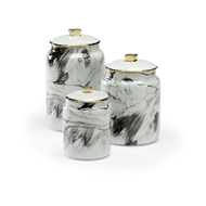 Wildwood Home Plume Canisters - Set of 3 301658 Ceramic