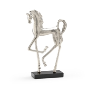 Wildwood Home Prancing Horse 292621 Cast Alloy