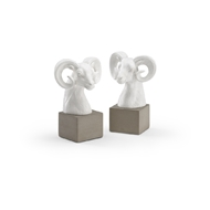 Wildwood Home Rameses Bookends - Pair 301548 Composite