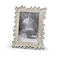 Wildwood Home Squiggle Photo Frame - 5X7 300893 Cast Aluminum