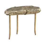 Wildwood Home Stonehenge Table 490331 Stone/Iron