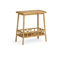 Wildwood Home Tahiti Table - Oak 490285 Rattan
