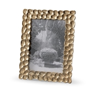 Wildwood Home Thumbprints Photo Frame - 5X8 300899 Cast Aluminum
