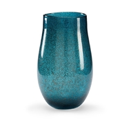 Wildwood Home Turquoise Bubble Vase - Large 301547 Glass