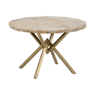 Wildwood Home Wilma Table - Large 490301 Petrified Wood