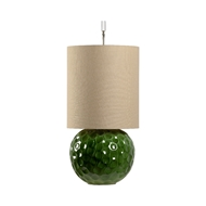 Wildwood Lighting Augusta Lamp - Pine 60846 Ceramic