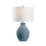Wildwood Lighting Barga Lamp - Sky Blue - Small 60950 Ceramic