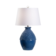 Wildwood Lighting Barga Lamp - Yale Blue - Large 60953 Ceramic