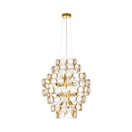 Wildwood Lighting Billie Jean Chandelier 67275 Steel/Glass