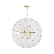 Wildwood Lighting Cleo Chandelier - Large 67249 Iron/Glass