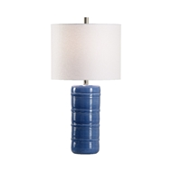 Wildwood Lighting Collodi Lamp - Blue 60962 Ceramic