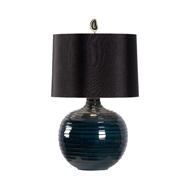 Wildwood Lighting Dark Knight Lamp - Black Shade 60844-2 Ceramic