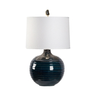 Wildwood Lighting Dark Knight Lamp - Off White Shade 60844 Ceramic