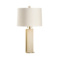 Wildwood Lighting Duncan Lamp 60896 Alabaster/Brass