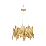 Wildwood Lighting Flourish Chandelier - Brass 67282 Aluminum