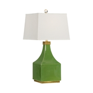 Wildwood Lighting Holden Lamp - Lime 60788 Porcelain