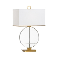 Wildwood Lighting Horizon Lamp 60881 Crystal/Iron