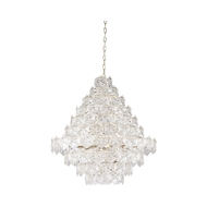 Wildwood Lighting Iceland Chandelier - Large 67209 Iron, Crystal