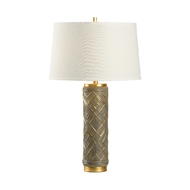 Wildwood Lighting Kuba Lamp - Gray 16161 Ceramic