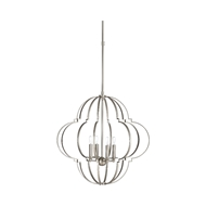 Wildwood Lighting Lola Chandelier - Large - Nickel 67264 Iron