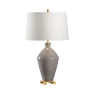 Wildwood Lighting Lona Lamp - Gray 60791 Ceramic