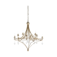 Wildwood Lighting Martha Chandelier 67244 Iron/Crystal