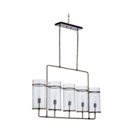 Wildwood Lighting McGuire Chandelier 67302 Iron/Glass