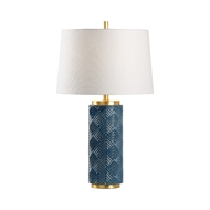 Wildwood Lighting Mountain Pine Lamp - Denim 60799 Ceramic