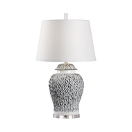 Wildwood Lighting Munch Lamp - Gray 60822 Ceramic