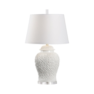 Wildwood Lighting Munch Lamp - White 60821 Ceramic