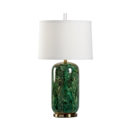 Wildwood Lighting Newport Lamp - Emerald 60906 Ceramic