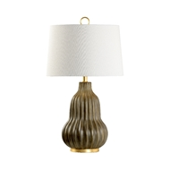 Wildwood Lighting Oliver Lamp - Gray 60765 Ceramic