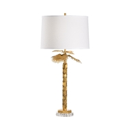 Wildwood Lighting Palm Island Lamp - Gold 60785 Iron