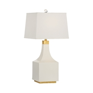 Wildwood Lighting Palmer Lamp - Snow 60800 Ceramic