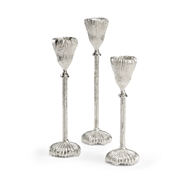 Wildwood Lighting Pod Candlesticks - Set of 3 301518 Aluminum