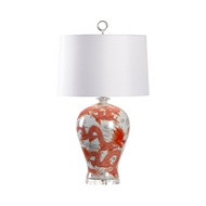Wildwood Lighting Prosperity Lamp - Red 60922 Porcelain