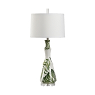 Wildwood Lighting Rain Forest I Lamp 17215 Porcelain
