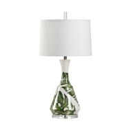 Wildwood Lighting Rain Forest II Lamp 17216 Porcelain