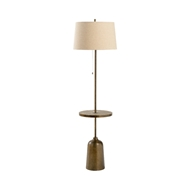 Wildwood Lighting Rothko Floor Lamp 60876 Iron/Concrete