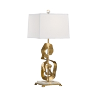 Wildwood Lighting Ruffle Lamp 60829 Iron