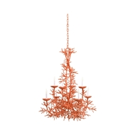 Wildwood Lighting Sea Breeze Chandelier - Coral 67274-C Iron