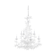 Wildwood Lighting Sea Breeze Chandelier - White 67274 Iron