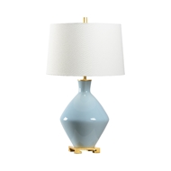 Wildwood Lighting Skylar Lamp - Sky Blue 60752 Ceramic