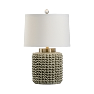 Wildwood Lighting Sweater Lamp - Gray 60917 Ceramic
