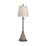 Wildwood Lighting Teton Lamp - Concrete 21755 Composite